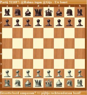 Teamschaken op Helena Schaken